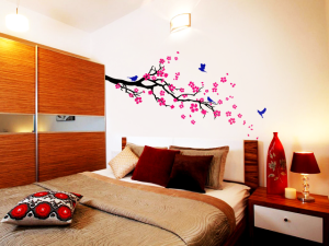 Petal Burst Wall Sticker